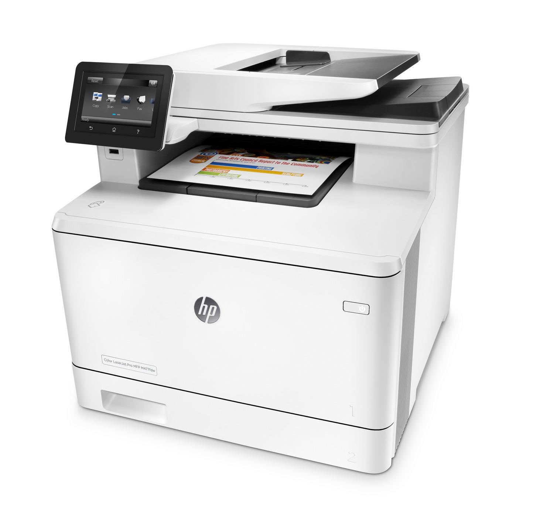 HP LaserJet Pro M477fnw - Color Laser Printer, Scaner, Fax, A4, Wi-Fi